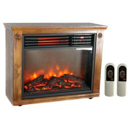 LifePro LifeSmart  LS-1111HH Infrared Portable Quartz Fireplace Electric Heater