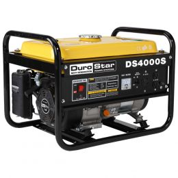 DuroStar DS4000S Portable Generator Gas Powered 4000 Watt