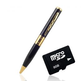 Mini DV Pen Hidden Camera Camcorder Video Recorder DVR &8GB