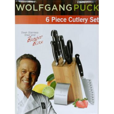 Wolfgang Puck 6 Piece Cutlery Black